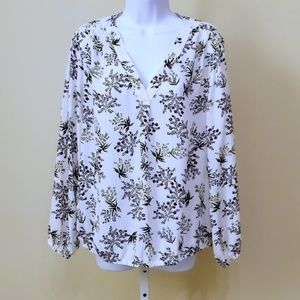 Chaus New York | Floral Blouse | NWOT